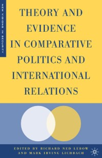 Cover Theory and Evidence in Comparative Politics and International Relations