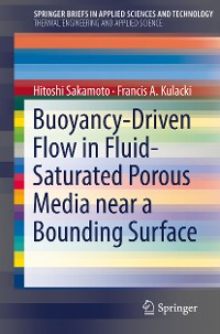Cover Buoyancy-Driven Flow in Fluid-Saturated Porous Media near a Bounding Surface