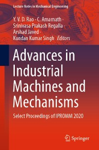 Cover Advances in Industrial Machines and Mechanisms