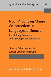 Cover Noun-Modifying Clause Constructions in Languages of Eurasia
