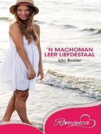 Cover Machoman leer liefdestaal, 'n