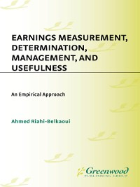 Cover Earnings Measurement, Determination, Management, and Usefulness