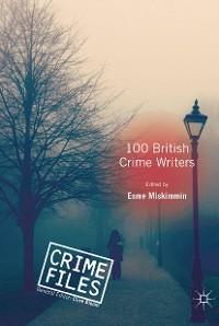 Cover 100 British Crime Writers