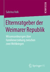 Cover Elternratgeber der Weimarer Republik