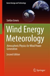 Cover Wind Energy Meteorology