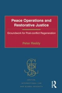 Cover Peace Operations and Restorative Justice