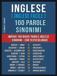 Cover Inglese ( Inglese Facile ) 100 Parole - Sinonimi