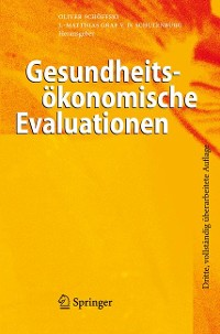 Cover Gesundheitsökonomische Evaluationen