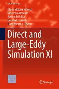 Cover Direct and Large-Eddy Simulation XI