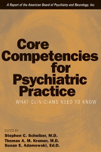 Cover Core Competencies for Psychiatric Practice