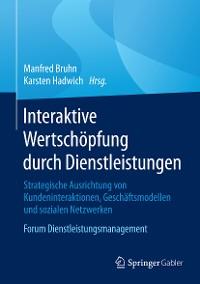 Cover Interaktive Wertschöpfung durch Dienstleistungen