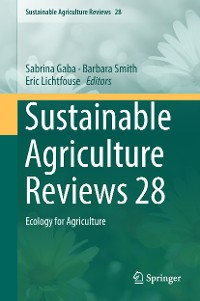 Cover Sustainable Agriculture Reviews 28