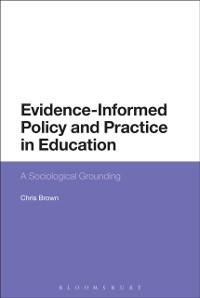 Cover Evidence-Informed Policy and Practice in Education