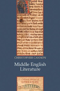 Cover Middle English Literature