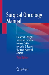 Cover Surgical Oncology Manual