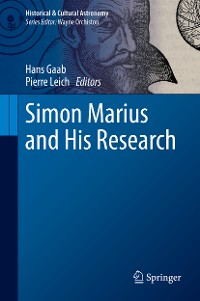 Cover Simon Marius and His Research