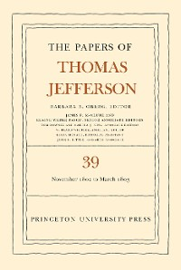 Cover The Papers of Thomas Jefferson, Volume 39