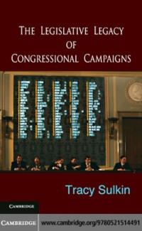 Cover Legislative Legacy of Congressional Campaigns