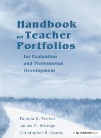 Cover Handbook on Teacher Portfolios for Evaluation and Professional Development