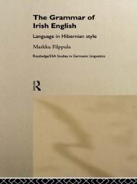 Cover Grammar of Irish English