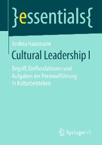 Cover Cultural Leadership I