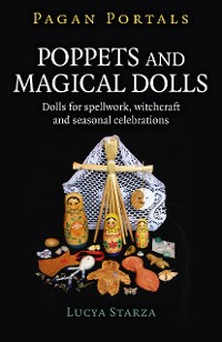 Cover Pagan Portals - Poppets and Magical Dolls