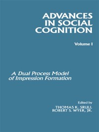 Cover Advances in Social Cognition, Volume I
