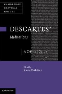 Cover Descartes' Meditations