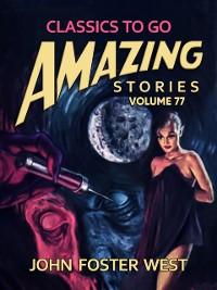 Cover Amazing Stories Volume 77