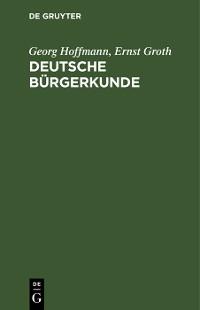 Cover Deutsche Bürgerkunde