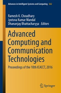 Cover Advanced Computing and Communication Technologies