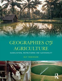 Cover Geographies of Agriculture