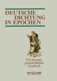 Cover Deutsche Dichtung in Epochen
