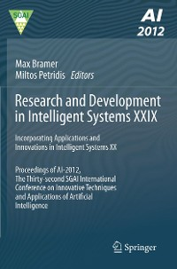 Cover Research and Development in Intelligent Systems XXIX