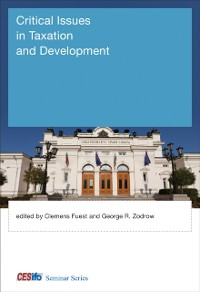 Cover Critical Issues in Taxation and Development