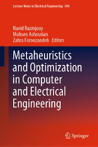 Cover Metaheuristics and Optimization in Computer and Electrical Engineering
