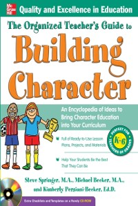Cover Organized Teacher's Guide to Building Character,