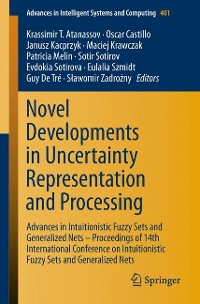 Cover Novel Developments in Uncertainty Representation and Processing