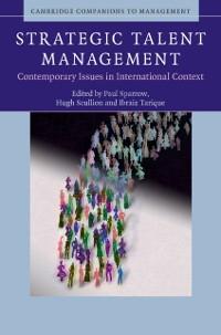 Cover Strategic Talent Management