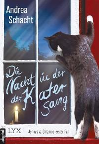Cover Die Nacht, in der der Kater sang