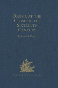 Cover Russia at the Close of the Sixteenth Century