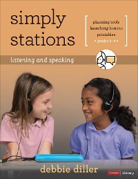 Cover Simply Stations: Listening and Speaking, Grades K-4