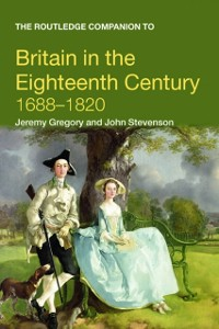 Cover Routledge Companion to Britain in the Eighteenth Century