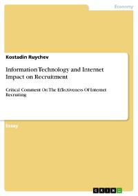 Cover Information Technology and Internet Impact on Recruitment