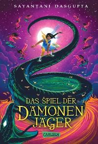 Cover Das Spiel der Dämonenjäger (Kiranmalas Abenteuer 2)