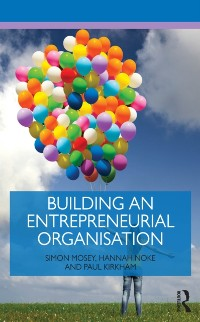 Cover Building an Entrepreneurial Organisation