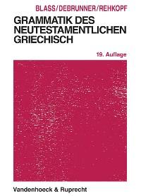Cover Grammatik des neutestamentlichen Griechisch