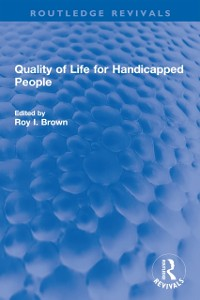 Cover Quality of Life for Handicapped People