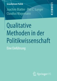 Cover Qualitative Methoden in der Politikwissenschaft