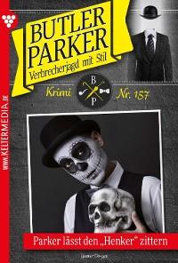 Cover Butler Parker 157 – Kriminalroman